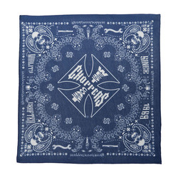 Handcrafted Blue Bandana