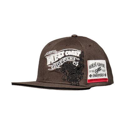 West Coast Choppers Wings Baseball Cap Antrecite
