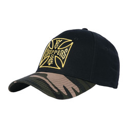 Casquette Warrior noir/camouflage