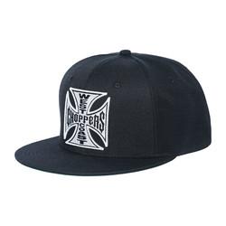 OG Cross Snapback Cap Zwart