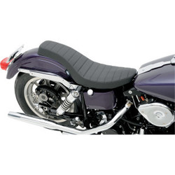 Spoon-Style Harley Davidson seat black