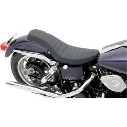Spoon-Style Harley Davidson zadel zwart