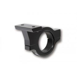 Schwarz-eloxierte Lenkerschelle aus Aluminium