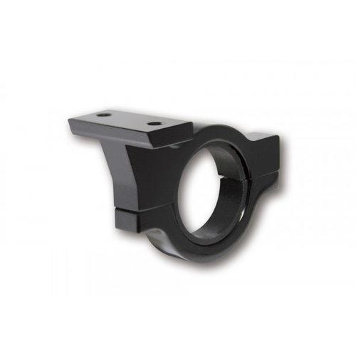 Highsider Stuurklem in zwart geanodiseerd aluminium