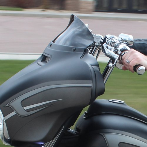 "KLOCK WERKS KUSTOM CYCLES 5"" FLARE Windscherm FLH 2014 < (Selecteer kleur)"