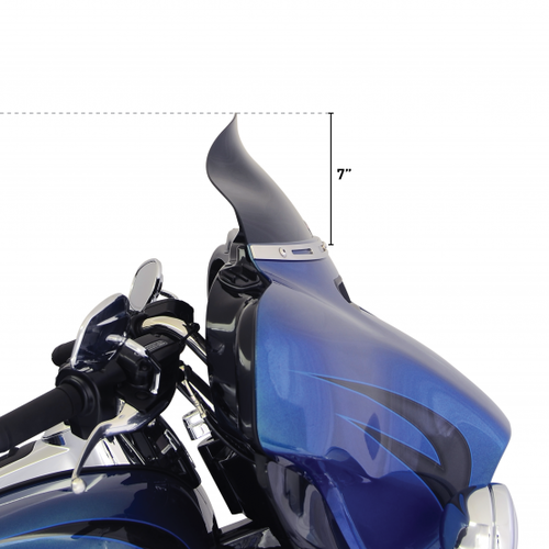 "KLOCK WERKS KUSTOM CYCLES 6.5"" FLARE Windscherm FLH 14> (Selecteer kleur)"