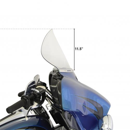 "KLOCK WERKS KUSTOM CYCLES 11.5"" FLARE Windscherm FLH 14> (Selecteer kleur)"