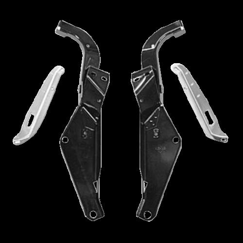 Double G Baggers Raked Batwing Buitenste Kuipdeel H-D 97-13