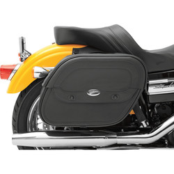 Express Cruis'n Saddlebags with Shock-Cutaway