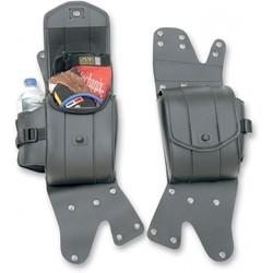 Cruis'n Deluxe Saddlebag Guard Bag Set H-D FLT/FLHT 93-18