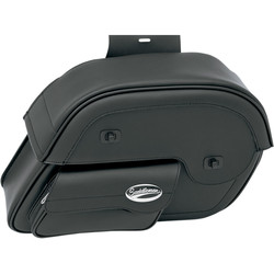 SET Large Cruis'n Slant Face Pouch Saddlebags