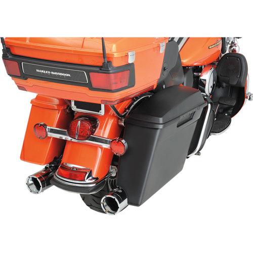 Drag Specialties Zijkoffers Extended H-D FLT/FLHT/FLHR/FLHX/FLTR 99-13