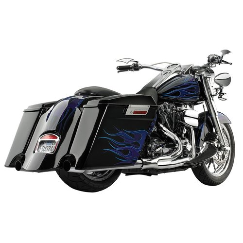 Cycle Visions Zijkoffers Full-Extended H-D FLT/FLHT/FLHR/FLHX/FLTR 99-13