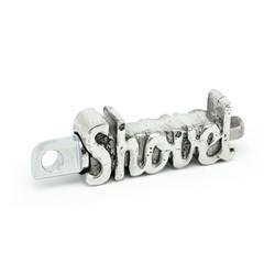 "Fußpedal ""Shovel"" Aluminium"