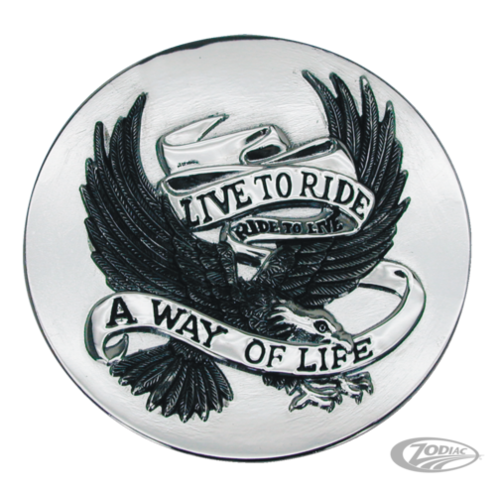Live to Ride Eagle Emblem