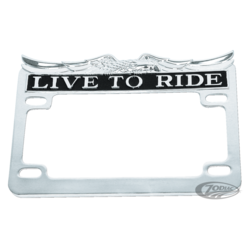 Live to Ride Kentekenplaathouder