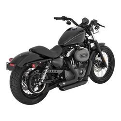 ShortShots Staggered Auspuffanlage Harley Sportster XL 04-13