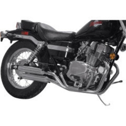 Honda VT 1100 uitlaatsysteem Staggered Slash Cut