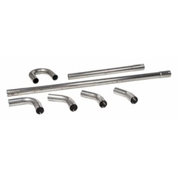38MM Stahl Auspuff Teile (Wählen Sie Ihre Stücke)