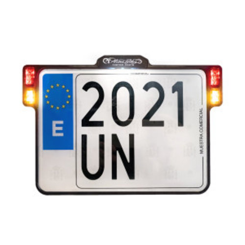 Heinz Bikes All-In-One 2.0 Licence Plate Holder Multifit