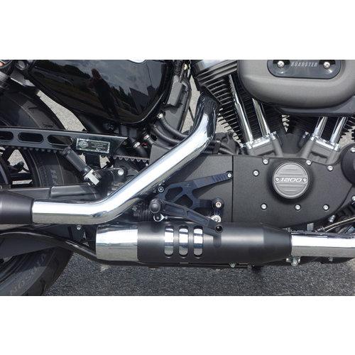 LSL H-D Sportster 17 > Kit de commandes reculées Noir