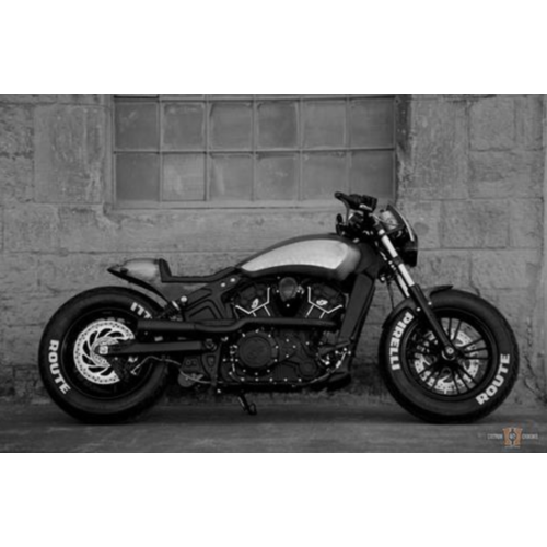BlechFee Caferacer Tail Section Kit Indian Scout 2015 <