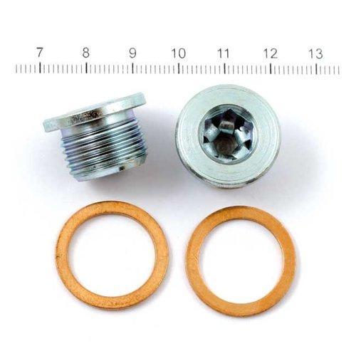 Vance & Hines Jeu de connecteurs pour capteur O2 18MM