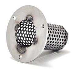Quiet Baffle For Mini Grenade Series Big Twin Harley