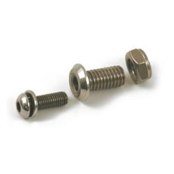 Zitting Schroef Reparatieset, RVS