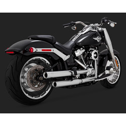 Eliminator 300 slip-ons Mufflers Satin Chrome