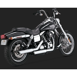 Twin Slash 3'' Slip-ons for Dyna (91-17)