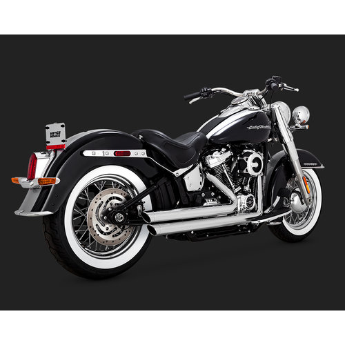 Vance & Hines Big Shots Staggered 2 1/2 '' voor Softail 18-20