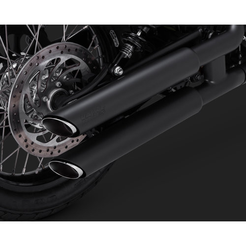 Vance & Hines Twin Slash 3 '' Slip-ons pour Indian Scout 15-18