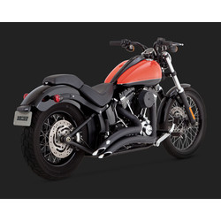 Big Radius 2-2 Black for 86-17 Softail