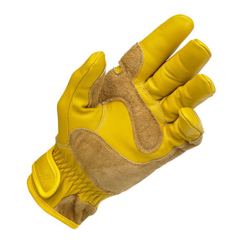 Biltwell Werkhandschoenen stijl goud