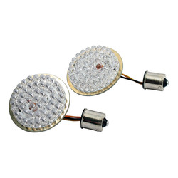 Bullet style turn signal inserts led