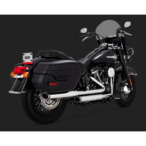 Vance & Hines 3'' Twin Slash Slip-ons for Softail 18-20