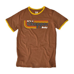 It's a Chopper Baby T-Shirt Male (Brown)