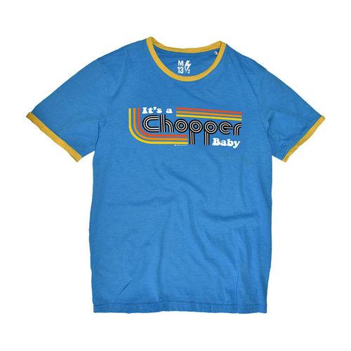 It's a Chopper Baby T-Shirt Male (Blue)