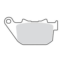 Brake Pads (rear)  for 04-13< XL / 08-12 XR1200