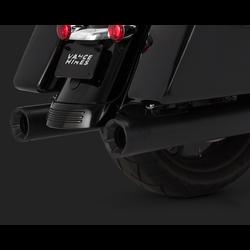 Eliminator 400 Slip-ons Black for Touring 17-20
