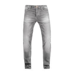 Ironhead Jeans Used Hellgrau