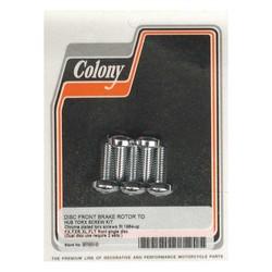 Colony brake rotor bolt kit