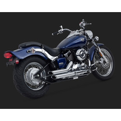Short-shots Staggered Chrome for Sportster 04-05