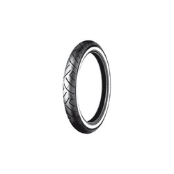 777 Front Tire 130/90B16 (73H) WW White Wall
