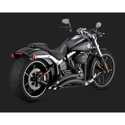 Big Radius 2-2 Black voor Harley Davidson 13-17 Softail