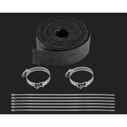 Exhaust Header Wrap Kit Black