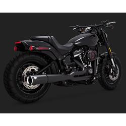 Pro Pipe 2-1 Black for Softail 18-19 (Select Color)