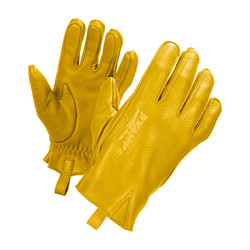 Yellow Gloves IRONHEAD with XTM Kevlar
