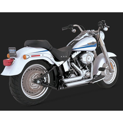 Short-shots Staggered Chrome for Softail 86-11